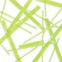 LIME GREEN TRANSPARENT NOODLES (7312-96) by OGT & SYSTEM 96
