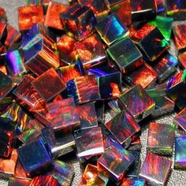 BLACK CUBE  3mm OPALS by GILSON OPALS