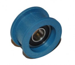 BLUE PULLEY #4 ASSEMBLY for TAURUS 2 & 3 RINGSAW