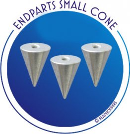 THREADED ENDBEAD - SMALL CONE