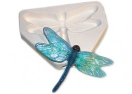 "DRAGONFLY CASTING MOLD - 5.5"" x 4"""