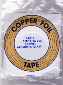 "3/8"" REGULAR COPPER BACKED FOIL - EDCO"