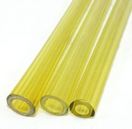 YELLOW TUBING by NORTHSTAR GLASS