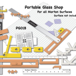 "MORTON ""NEW"" STYLE PORTABLE GLASS SHOP"