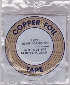 "5/16"" SILVER BACKED FOIL - EDCO"
