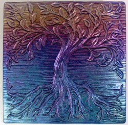 TREE OF LIFE TEXTURE MOLD
