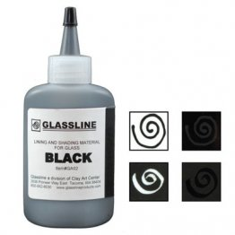 BLACK GLASSLINE PAINT PEN