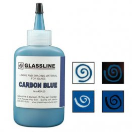 CARBON BLUE GLASSLINE PAINT PEN