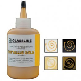 METALLIC GOLD GLASSLINE PAINT PEN