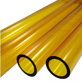YELLOW BORO TUBE -  9mm x 2mm - IMPORTED