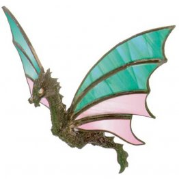 BEJEWELED FLYING DRAGON (LEAD FREE) CASTING by CREATIVE CASTINGS
