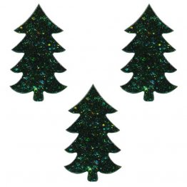 PRE CUT FUSIBLE TREE - GREEN AVENTURINE - 96 COE