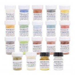 REUSCHE ENAMELS SILVER STAINS KIT
