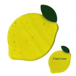 PRE CUT FUSIBLE LEMON - 96 COE