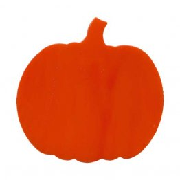 PRE CUT FUSIBLE PUMPKIN - SMALL ROUND - 96 COE