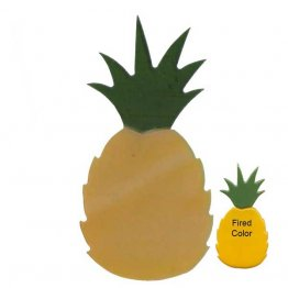 PRE CUT FUSIBLE PINEAPPLE - 96 COE