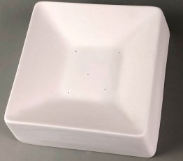 SQUARE SIDED SLUMPING MOLD - 6.5""