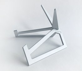 ALUMINUM DISPLAY STAND - SILVER LARGE