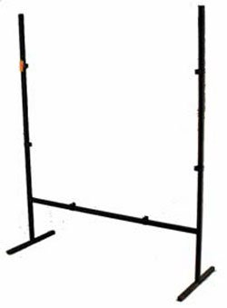 "SQUARE DISPLAY STAND - 12"" WROUGHT IRON"