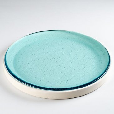 "ROUND TRAY MOLD - 13.3"" by BULLSEYE GLASS"