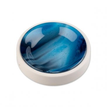 "ROUND TRAY MOLD - 5.25"" by BULLSEYE GLASS"