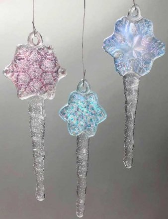(3) THREE FLAKE ICICLE MOLD by CPI