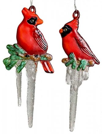 CARDINAL ICICLE ORNAMENT MOLD by CPI