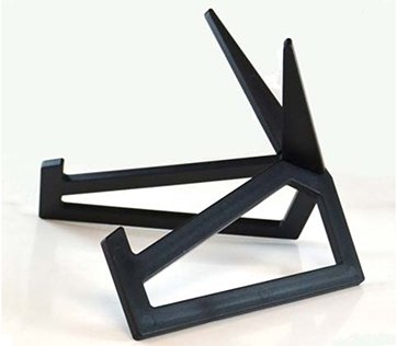 ACRYLIC DISPLAY STAND - MATTE BLACK SMALL