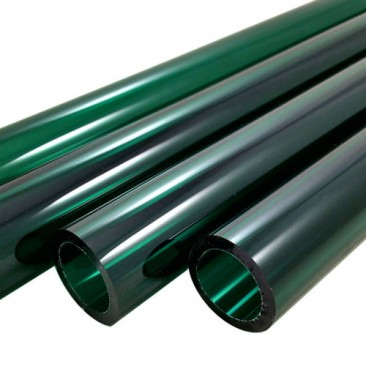 LAKE GREEN BORO TUBE -  12mm x 2mm - IMPORTED