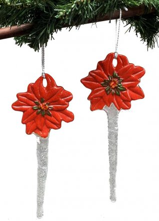 POINSETTIA ORNAMENT STAKES MOLD by CPI