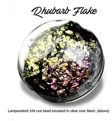 RHUBARB FLAKE by LUMIERE LUSTERS™