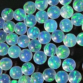 CRYSTAL SPHERE 3mm OPALS by GILSON OPALS