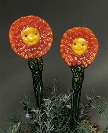 ZANY ZINNIAS MOLD by CPI