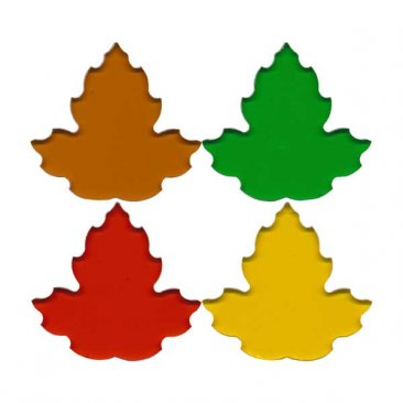 PRE CUT FUSIBLE MAPLE LEAVES - 96COE