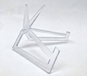 ACRYLIC DISPLAY STAND - CLEAR SMALL