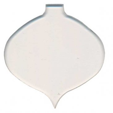 PRE CUT FUSIBLE ORNAMENT - WIDE CLEAR - 96 COE