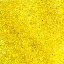 YELLOW TRANSPARENT FRIT #161 by OCEANSIDE COMPATIBLE & SYSTEM 96